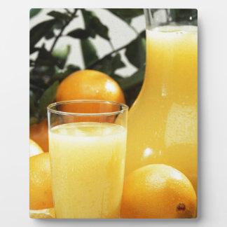 Juice Food Display Plaque