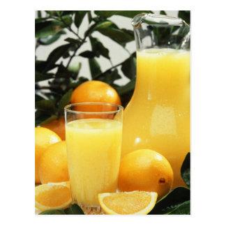 Juice Food Postcard