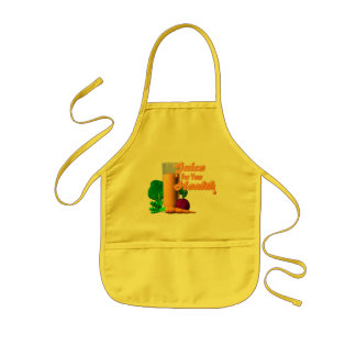 juice for health kids' apron