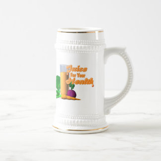 Juice For Your Health on 100+ items  Valxart.com Beer Stein