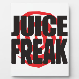 Juice Freak Photo Plaques