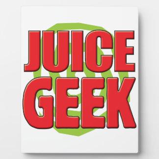Juice Geek Plaques