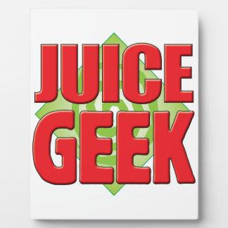 Juice Geek v2 Plaque