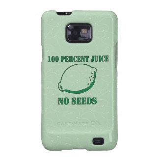 Juice No Seeds Samsung Galaxy S2 Cover
