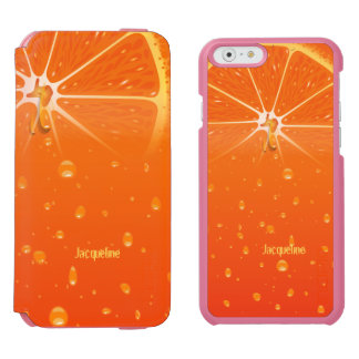 Juice Orange Juicy iPhone 6/6s Wallet Case