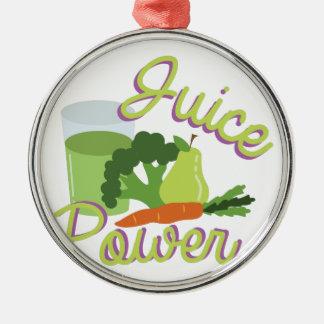 Juice Power Metal Ornament