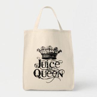 Juice Queen Grocery Tote Bag