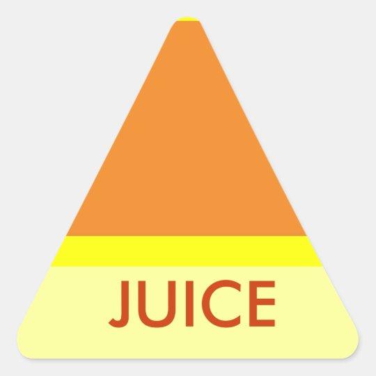 JUICE triange sticker