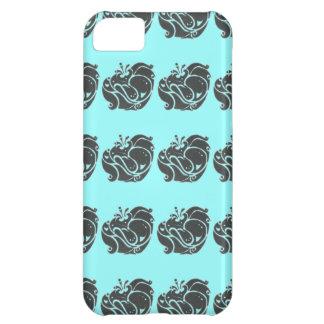 Juiced encima del caso del iPhone 5 de la flora
