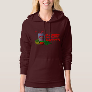 Juicer are better Lovers by Valxart.com Hoodie