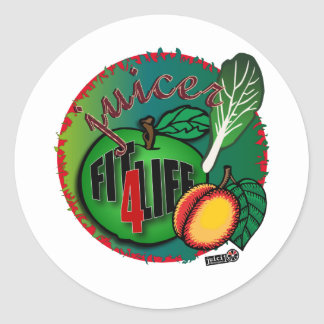 Juicer Classic Round Sticker