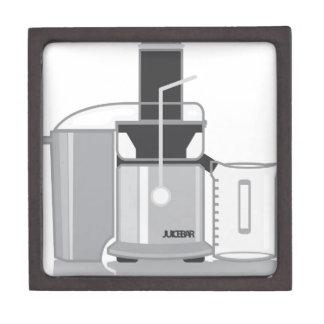 Juicer vector gift box
