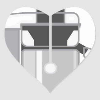 Juicer vector heart sticker