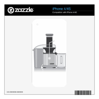 Juicer vector iPhone 4S decal
