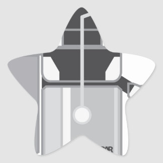 Juicer vector star sticker