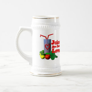 Juicers are better lovers by Valxart.com Beer Stein