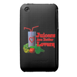 Juicers are better lovers by Valxart.com Case-Mate iPhone 3 Cases
