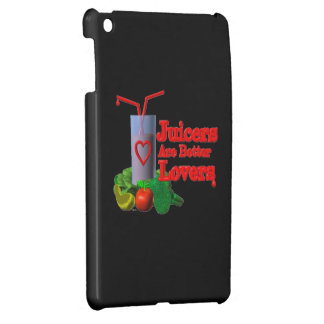 Juicers are better lovers by Valxart com iPad Mini Cases