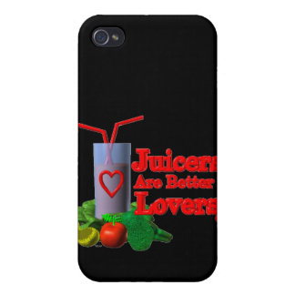Juicers are better lovers by Valxart.com iPhone 4/4S Cover