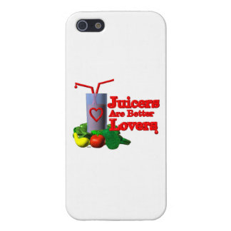 Juicers are better lovers by Valxart.com iPhone 5 Cases