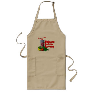 Juicers are better lovers by Valxart.com Long Apron