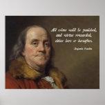 Juicio de Franklin Posters