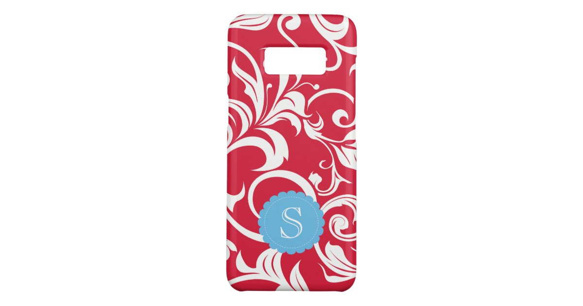 juicy apple red wallpaper swirl monogram case mate samsung galaxy case r853fe9005887429890dbcd36afe65b8a k1226 630