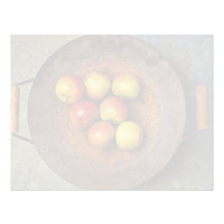 Juicy Apples in wok Letterhead