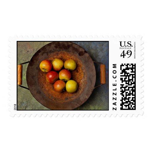 Juicy Apples in wok Postage