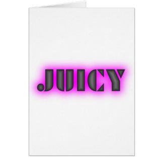 Juicy Card