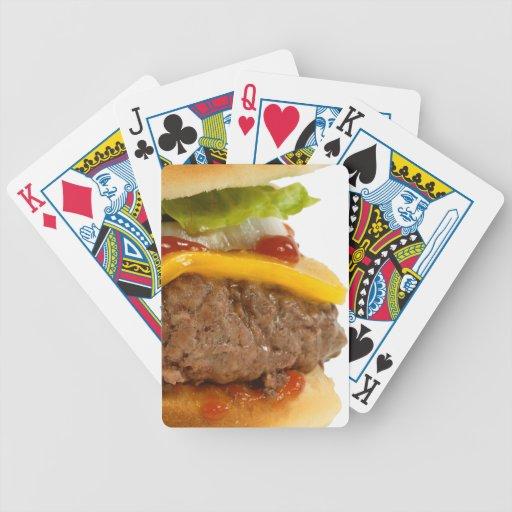 Juicy Cheeseburger Playing Cards