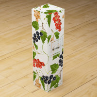 Juicy Currants Monogram Wine Box