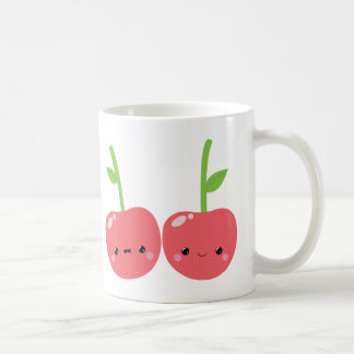 Juicy Cute Kawaii Cherries Coffee Mug