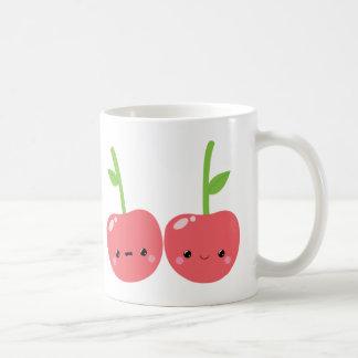 Juicy Cute Kawaii Cherries Mugs