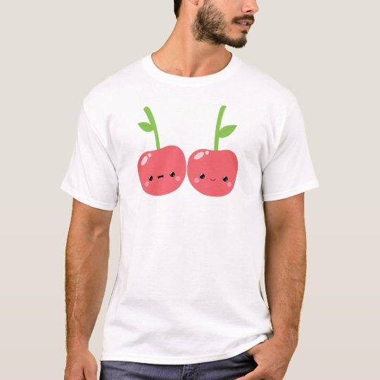 Juicy Cute Kawaii Cherries T-Shirt