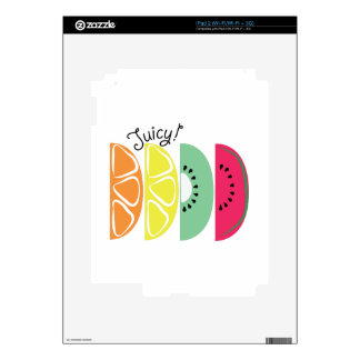 Juicy! Decal For iPad 2