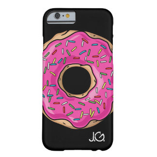 Juicy Delicious Pink Sprinkled Donut Barely There iPhone 6 Case