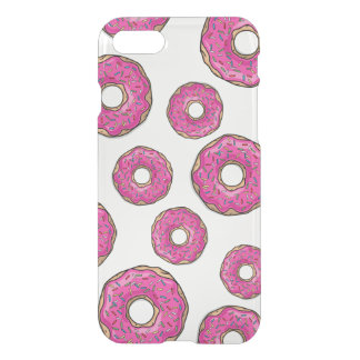 Juicy Delicious Pink Sprinkled Donut iPhone 7 Case