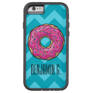 Juicy Delicious Pink Sprinkled Donut Tough Xtreme iPhone 6 Case