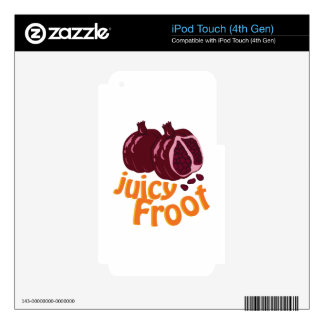Juicy Froot iPod Touch 4G Skins