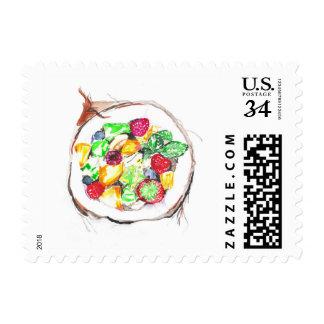 Juicy fruits postage