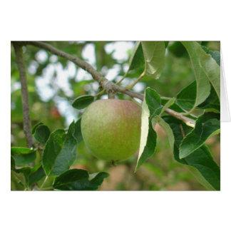 Juicy Green Apple Card