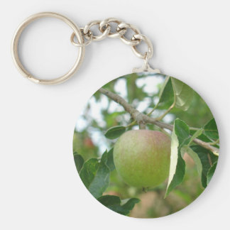 Juicy Green Apple Keychain