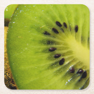 Juicy Green Fruity Kiwi Coaster