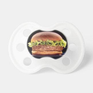 Juicy Hamburger Baby Pacifiers