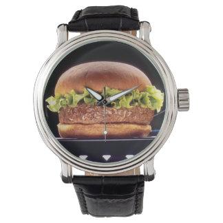 Juicy Hamburger Wrist Watches