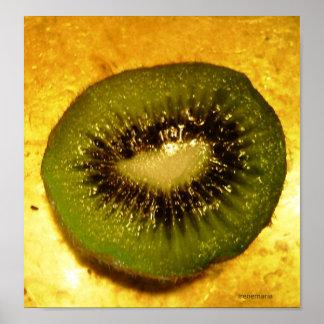 Juicy kiwi print