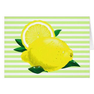Juicy Lemons Card