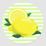Juicy Lemons Stickers