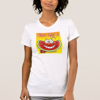 Juicy like a watermelon with background t shirt
